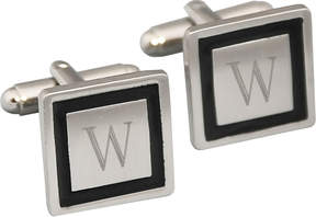 Accessories Engravable Black Cufflinks