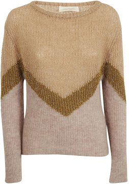 Chiara Bertani Zigzag Pattern Sweater