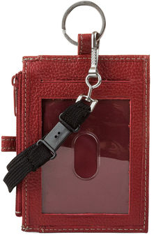 Mundi Leather Lanyard Wallet