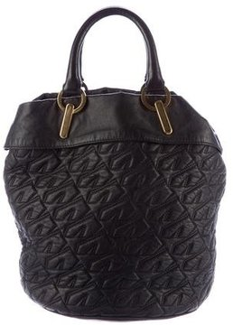 Derek Lam Quilted Leather Satchel