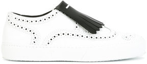 Robert Clergerie trainer-style brogues with tassel