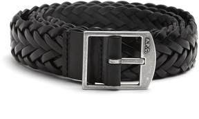 A.P.C. Gael braided-leather belt