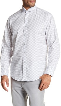 James Campbell Linfield Printed Long Sleeve Woven Shirt