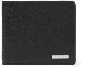 HUGO BOSS Cross-Grain Leather Billfold Wallet