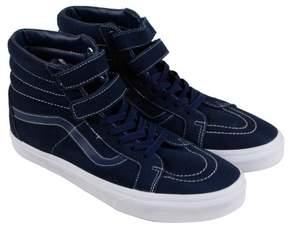 Vans Sk8 Hi Reissue Suede Navy Mens High Top Sneakers