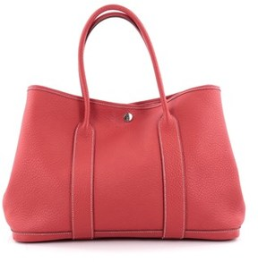 Hermes Pre-owned: Garden Party Tote Leather 36. - RED - STYLE