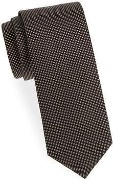 Eton Men's Dot-Print Silk Tie