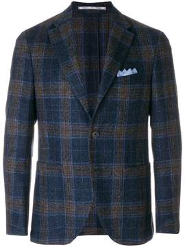 Cantarelli checked tailored jacket
