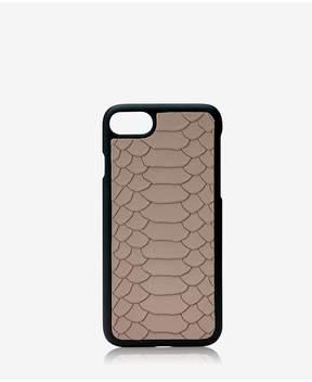 GiGi New York Iphone 7 HardShell Case In Stone Embossed Python