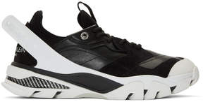 Calvin Klein Black and White Carlos 10 Sneakers