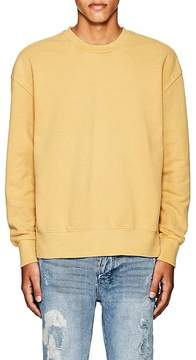 Ksubi Men's Seeing Lines Reverse-Hem Cotton Sweatshirt