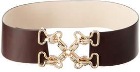J.Mclaughlin Women's Heraldic Leather Belt