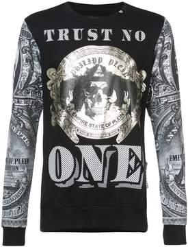Philipp Plein Trust No One sweatshirt