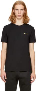 Fendi Black Bag Bugs Rectangle T-Shirt