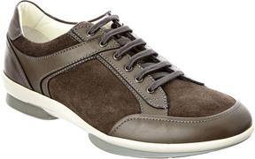 Aquatalia Wayne Waterproof Leather & Suede Sneaker