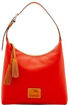 Dooney & Bourke Patterson Leather Paige Sac Shoulder Bag - PERSIMMON - STYLE