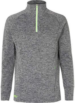 2XU Fleece-Back Stretch-Jersey Top