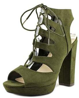 Bar III Womens Nelly Open Toe Casual Fabric Platform Sandals.