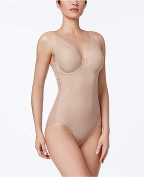 Bali Ultra-Light Firm Tummy-Control Sheer Lace Body Briefer 6552