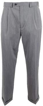 Lauren Ralph Lauren Men's Pleated Dress Pants (38x32, Grey)