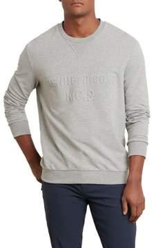 Kenneth Cole New York Logo Embossed Crew Sweatshirt - Men's