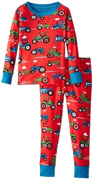 Hatley Farm Tractors PJ Set Boy's Pajama Sets