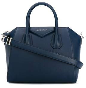 Givenchy Women's Blue Leather Handbag.