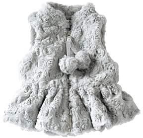 Mud Pie Fur Vest Girl's Vest