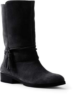 Lands' End Lands'end Women's Suede Slouch Booties