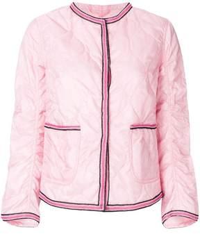 Ermanno Scervino slim-fit quilted jacket
