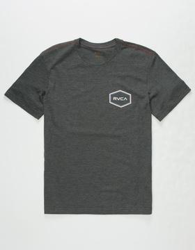 RVCA Triple Hex Boys T-Shirt