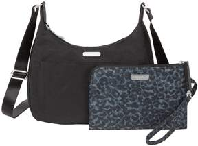 Baggallini Peek-A-Boo Medium Hobo and Wristlet