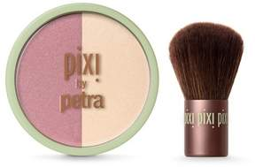 Pixi By Petra Beauty Blush Duo + Kabuki Rose Gold 0.36 oz
