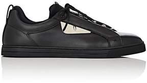 Fendi Men's Buggies Appliqué Leather & Neoprene Sneakers
