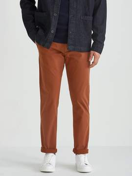 Frank and Oak The Newport Chino in Rustic Brown