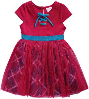 Youngland Young Land Short Sleeve Tutu Dress - Toddler Girls
