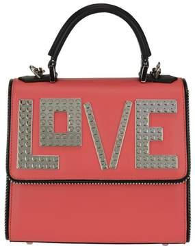 Les Petits Joueurs Alex Silver Love Mini Bag