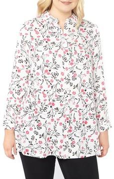 Evans Plus Size Women's Ditsy Floral Shirt