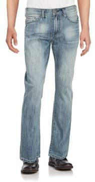Buffalo David Bitton Five-Pocket Cotton Blend Denim Pants