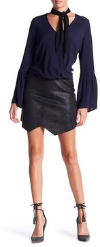 Fifteen-Twenty Fifteen Twenty Asymmetric Skirt
