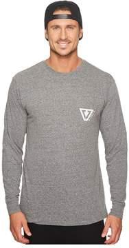 VISSLA Established Long Sleeve Pocket T-Shirt Men's T Shirt
