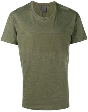 Lot 78 Lot78 Army Green Cashmere Blend T-Shirt