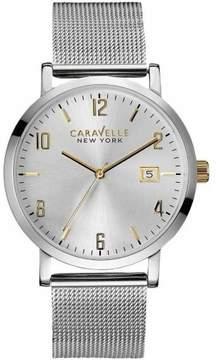 Bulova Caravelle New York Mesh Men's Watch, 45B128