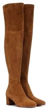 Polo Ralph Lauren Michaela suede over-the-knee boots