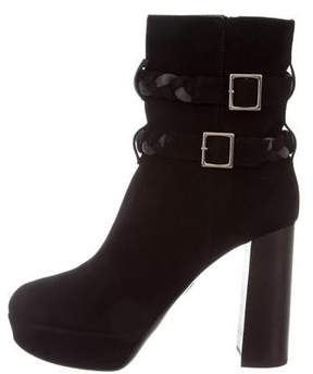 Ritch Erani NYFC Suede Ankle Boots w/ Tags