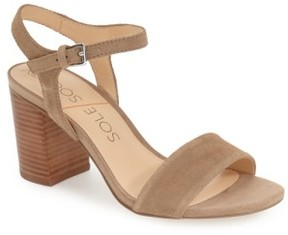 Sole Society Women's 'Linny' Ankle Strap Sandal