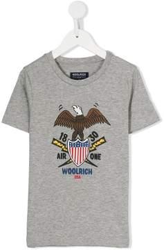 Woolrich Kids eagle print T-shirt