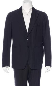 Dries Van Noten Wool-Blend Deconstructed Sport Coat