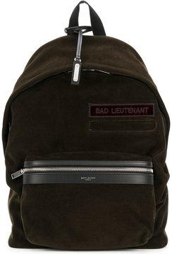 Saint Laurent corduroy Bad Lieutenant City backpack