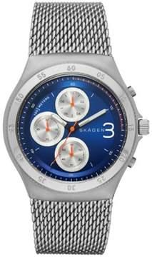 Skagen Jannik Mesh Chronograph Mens Watch SKW6154